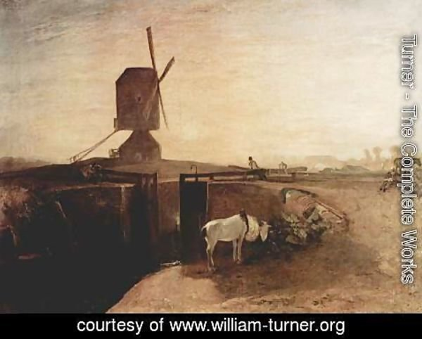 Turner - The large channel connection with Southall Mill