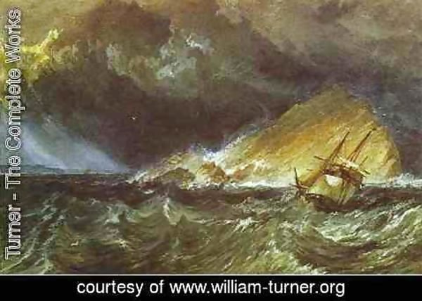 Turner - The Mew Stone at the Entrance of Plymouth Sound