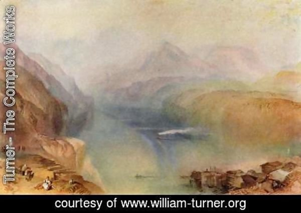 Turner - The Vierwaldstaetter lake