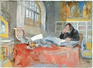 Turner - Turner in his studio