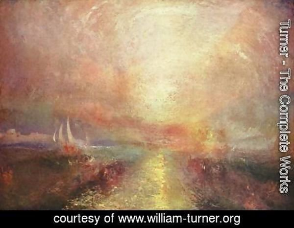 Turner - Yacht Approaching the Coast