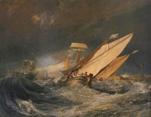 Turner - Fishing Boats Entering Cal 1803