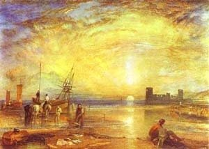 Turner - Flint Castle 1838