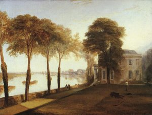 Turner - Mortlake Terrace Early Summer Morning 1826