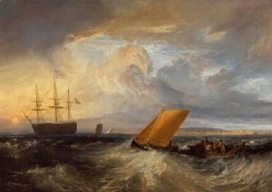 Turner - Sheerness as seen from the Nore 1808