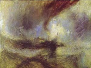 Turner - Snow Storm Steam Boat Off A Harbours Mouth 1842