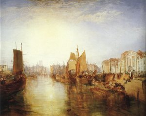 The Harbor of Dieppe 1826