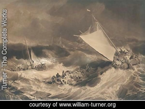 A shipwreck, by C. Turner