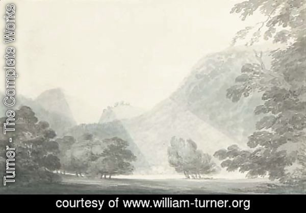 Turner - Sunlight on a river valley