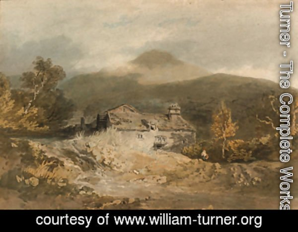 Turner - A mill in North Wales