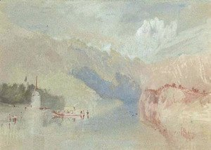 Turner - A view on the Rhine