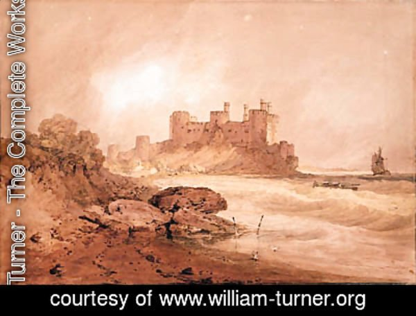 Turner - Conway Castle, North Wales