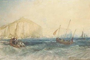 Turner - Fishing boats off Hastings