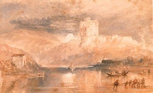 Turner - Norham Castle Moonrise