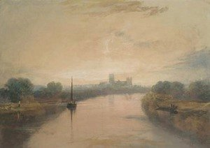 Turner - On the River Ouse, with a view of York Minster in the distance