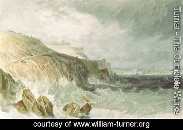 Turner - Plymouth Citadel, a gale
