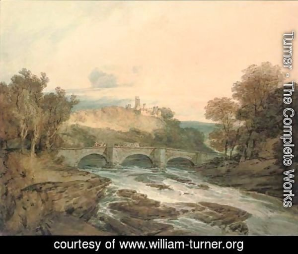 Turner - Possibly Dilston Castle, Northumberland
