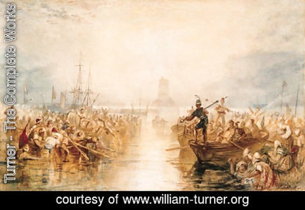 Turner - Saint-Vaast-la-Hougue, Normandy