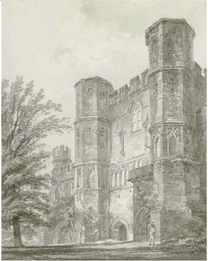 The Abbey Gate, Battle Abbey, Sussex