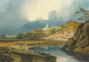 Turner - View of Bridgnorth, on the River Severn, Shropshire
