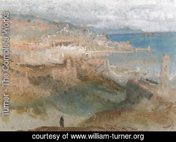 Turner - View of Genoa, Italy