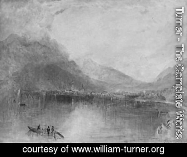 Turner - Arth On The Lake Of Zug, Early Morning
