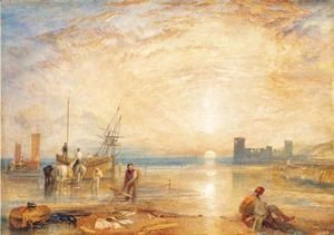 Turner - Flint Castle, North Wales