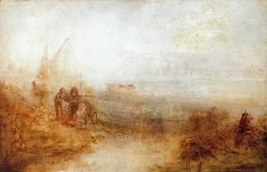 Turner - Wreckers On The Coast Sun Rising Through The Mist