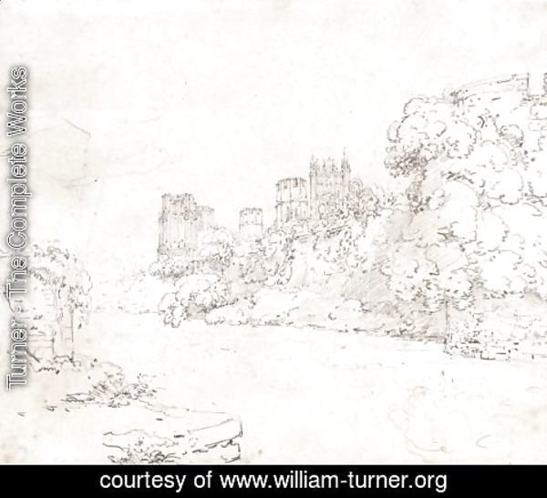 Turner - Wells Cathedral, South Wales