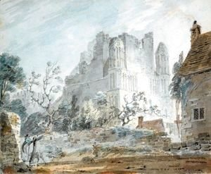Turner - East Malling Abbey, Kent