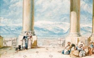 Turner - Turin, From The Portico Of The Superga Church