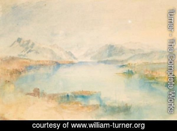 Turner - The Rigi, Lake Lucerne
