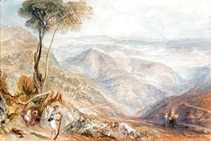 Turner - Valley Of The Dhoon, India