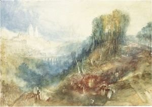 Turner - Lausanne From The West