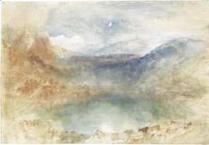 Turner - A Swiss Lake, Lungernzee