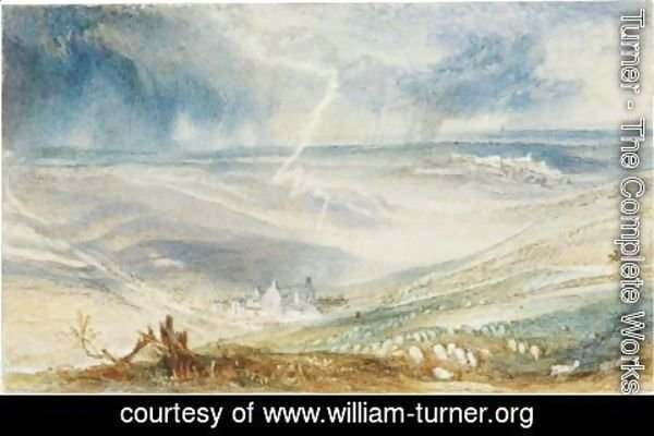 Turner - The Field Of Waterloo, From The Picton Tree