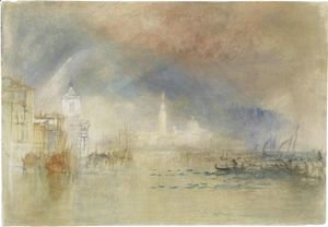 Turner - Venice Looking Towards The Dogana And San Giorgio Maggiore, With A Storm Approaching