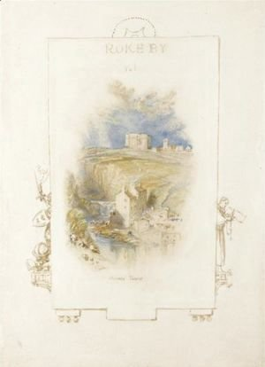 Turner - Bowes Tower, Yorkshire