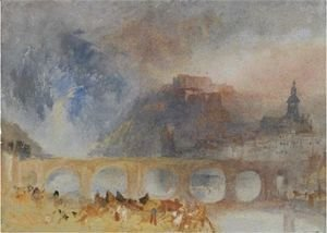 Turner - View Of Givet, On The Meuse, South Of Dinant