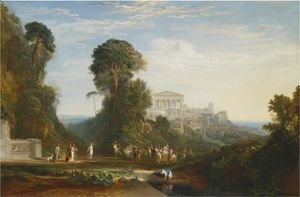 Turner - The Temple Of Jupiter Panellenius Restored