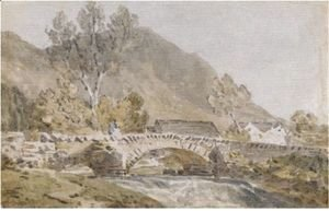 Turner - Grange Bridge, Borrowdale