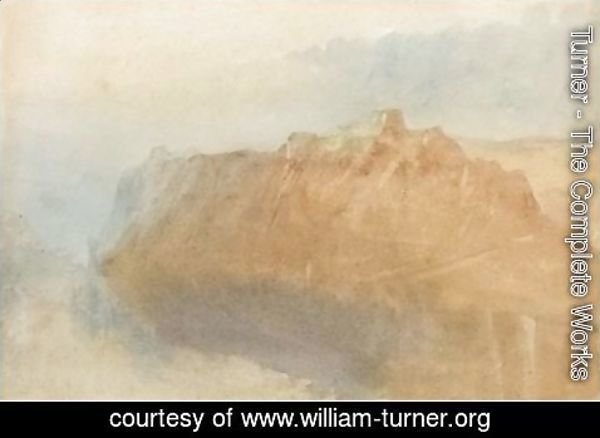 Turner - The Fortress Of Ehrenbreitstein From Across The Rhine
