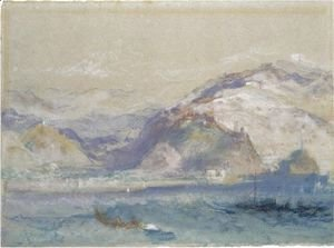 Turner - Genoa From The Sea