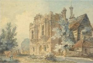 Turner - View Of The Gatehouse At Rye House, Hertfordshire