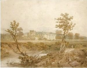 Turner - View Of Hampton Court, Herefordshire