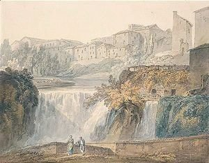 Turner - Falls Of The Anio At Tivoli