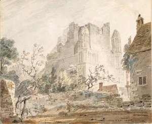 Turner - East Malling Abbey, Kent 2