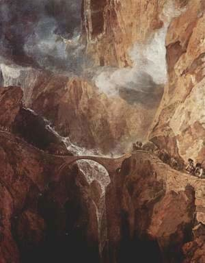 Turner - The Devil's Bridge, St. Gotthard