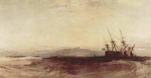 Turner - A stranded ship
