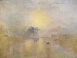 Turner - Norham Castle at sunrise